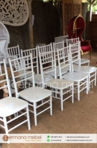 Kursi Tiffani Duco Putih