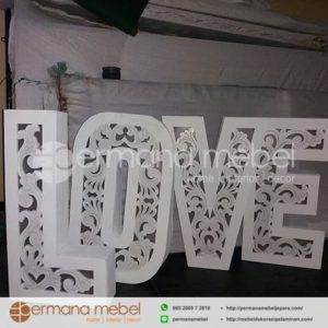 Property Wedding LOVE Karet