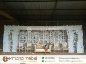 Set Dekorasi Pernikahan Karet Spon