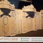 Dekorasi Pernikahan Karet Minimalis