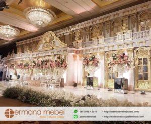 Dekorasi Pelaminan Karet Glamour