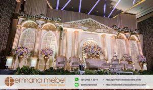 Dekorasi Wedding Spon Karet Eropa