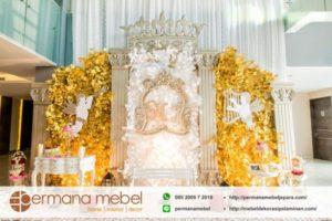 Photo Booth Pelaminan Spon Karet King
