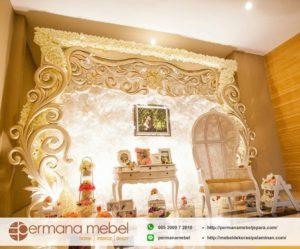 Photo Booth Wedding Karet Ukir Minimalis