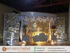 Dekorasi Pelaminan Karet Terbaru By Permana Mebel