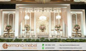 Dekorasi Pernikahan Gedung Karet Modern