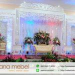 Set Dekorasi Perkawinan Karet Ukir Minimalis