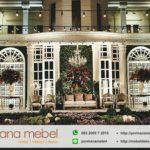 Dekorasi Wedding International Spon Karet