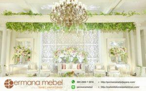 Dekorasi Wedding Modern Terbaru Karet