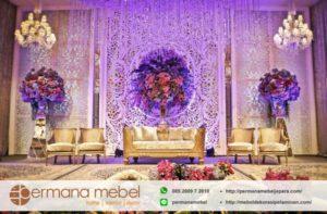 Set Dekorasi Pernikahan Ukir Busa Spon Karet
