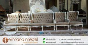Set Kursi Pelaminan Wing Chair