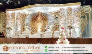 Dekorasi Wedding Spon Karet Ukir Terbaru