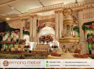 Decoration Pelaminan Modern Eropan Karet