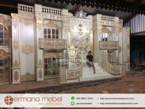Dekorasi Pelaminan Gedung Mewah Karet