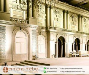 Wedding Decoration Eropa Spon Karet