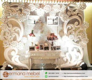 Photo Booth Pelaminan Karet Spon