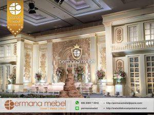 Dekorasi Pernikahan Gedung Internasional Mewah
