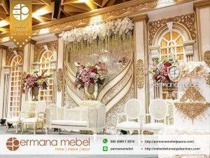 Dekor Pernikahan Karet Modern Model Terbaru