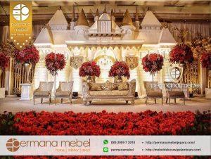Dekorasi Pernikahan Istana Rumahan Karet