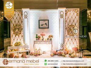 Photo Booth Pernikahan Karet Minimalis Modern