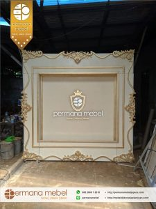 Photobooth Pelaminan Ukir Karet Minimalis Mewah