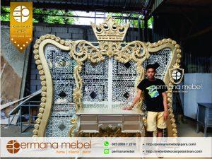 Photo Booth Wedding King Bahan Karet Kombinasi Kaca